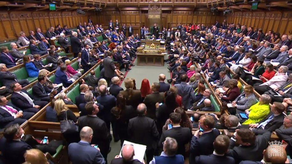 Keine Mehrheiten mehr möglich, für keinen der acht Alternativvorschläge zum Brexit-Vertrag von Premierministerin Theresa May