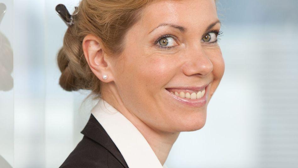 Sie hat wieder gut lachen: Anastassia Lauterbach verantwortet seit September das Europageschäft des US-Telekommunikationsausrüsters Qualcomm