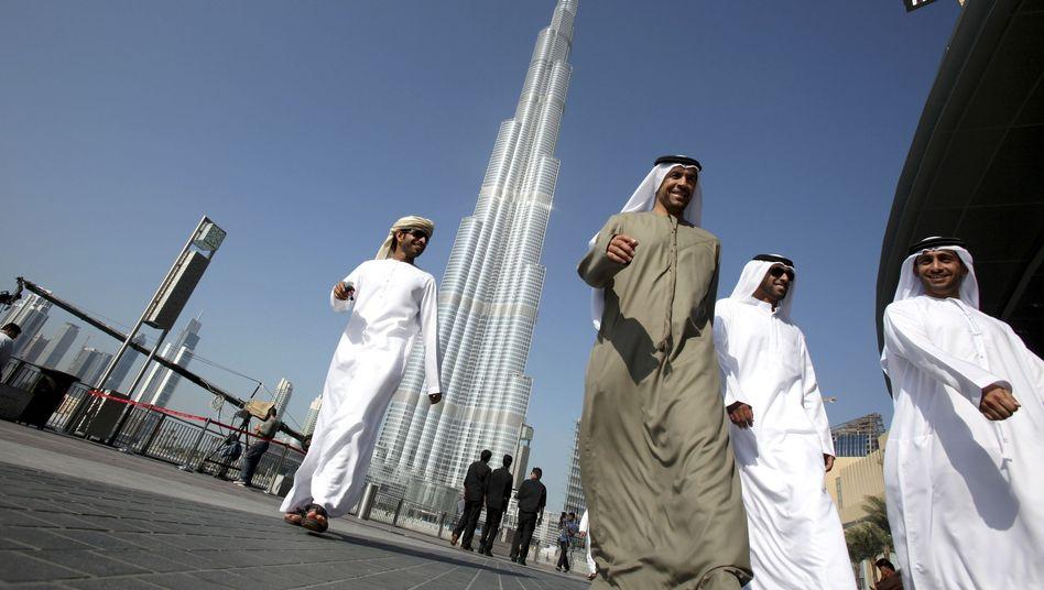 Hoch hinaus: Die Zeiten des Immobilienbooms in Dubai sind vorläufig vorbei - und damit wohl auch die Illusionen vieler Anleger hierzulande