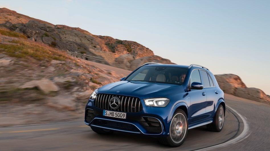 Stärker und immer protziger: Mercedes-SUV mit V8-Turbo und 4,0-Liter-Maschine