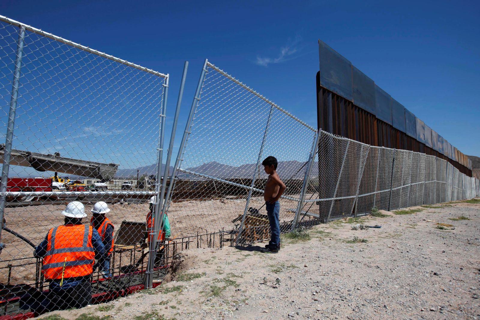 Mauerbau Mexico USA