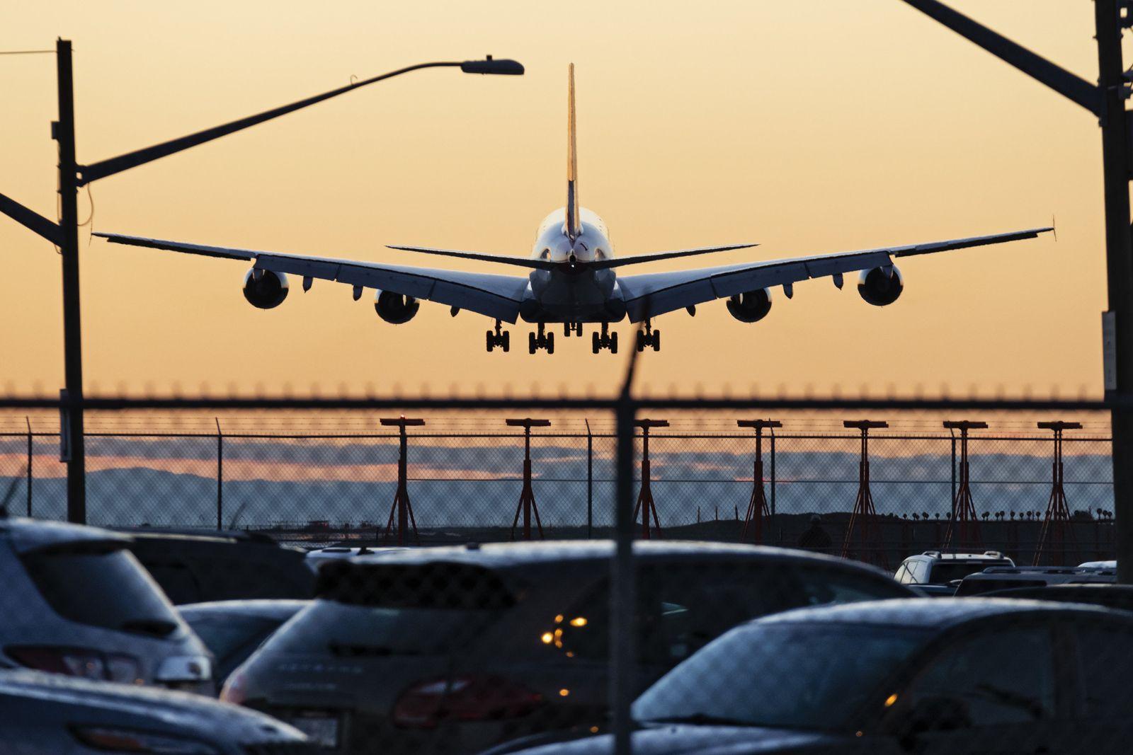 Flugzeug Lärm