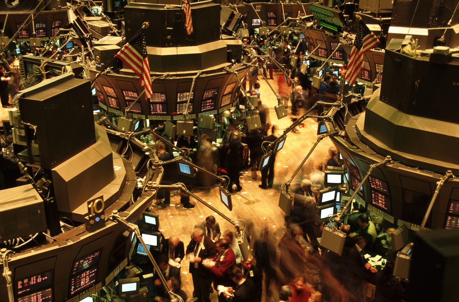 NICHT MEHR VERWENDEN! - Trading Floor of The New York Stock Exchange