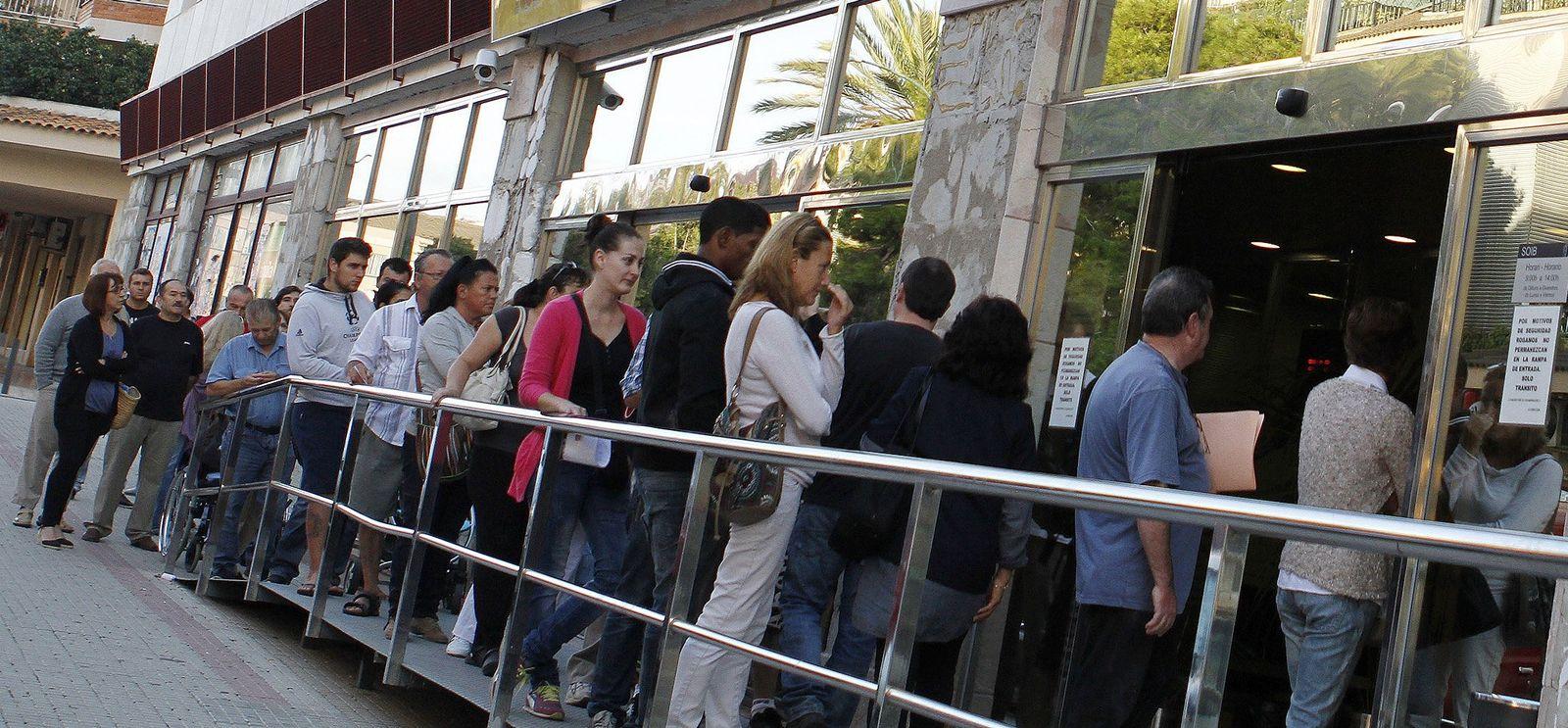 Spanien / Mallorca / Arbeitslose