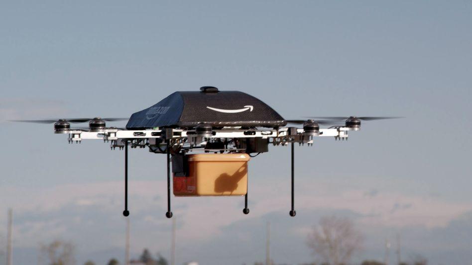 Die FAA hat's genehmigt: Amazons Drohnen dürfen nun auch unter freiem Himmel getestet werden