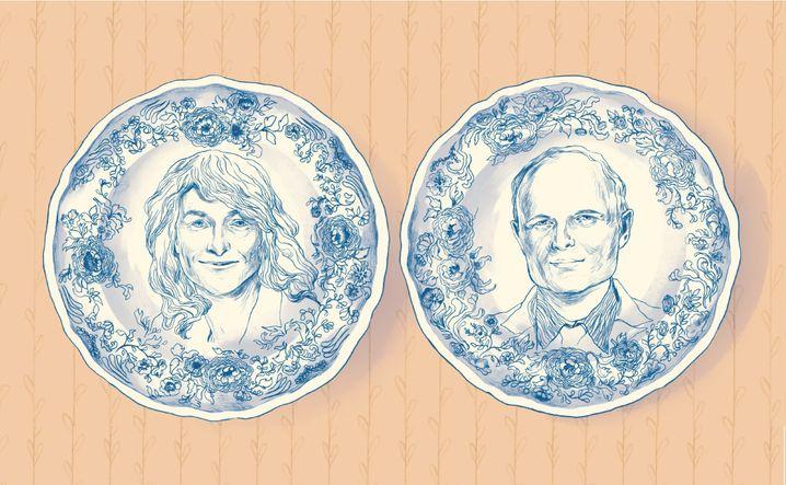 Keramikhersteller mit Problemen: Gabi Schupp (l.), Chefin der Geschirrsparte und Michel von Boch-Galhau, der den Gesellschafterausschuss führt.