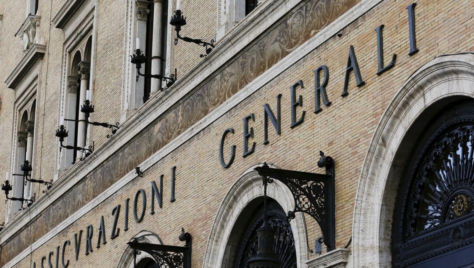Generali-Zentrale in Rom: Der Versicherer trennt sich von seinem Lebensversicherungsgeschäft in Deutschland