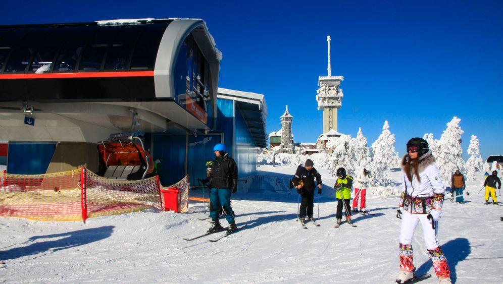 Zwischen Wintervergnügen und Radonkur: Zu Besuch in Jáchymov