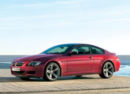 Formel-1-Motor im Langstreckencoupé: BMW M6