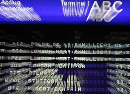 Zwischen Check-in und Jetlag: Der Airport-Marathon ist vielen mit Laptops bepackten Managern ein Gräuel