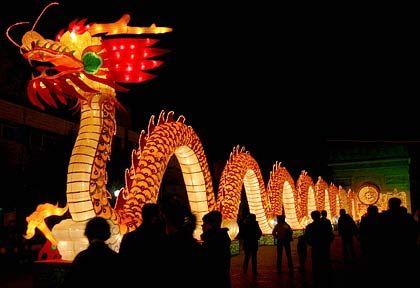 Der Drache: Das Fabelwesen ist das Symbol für China