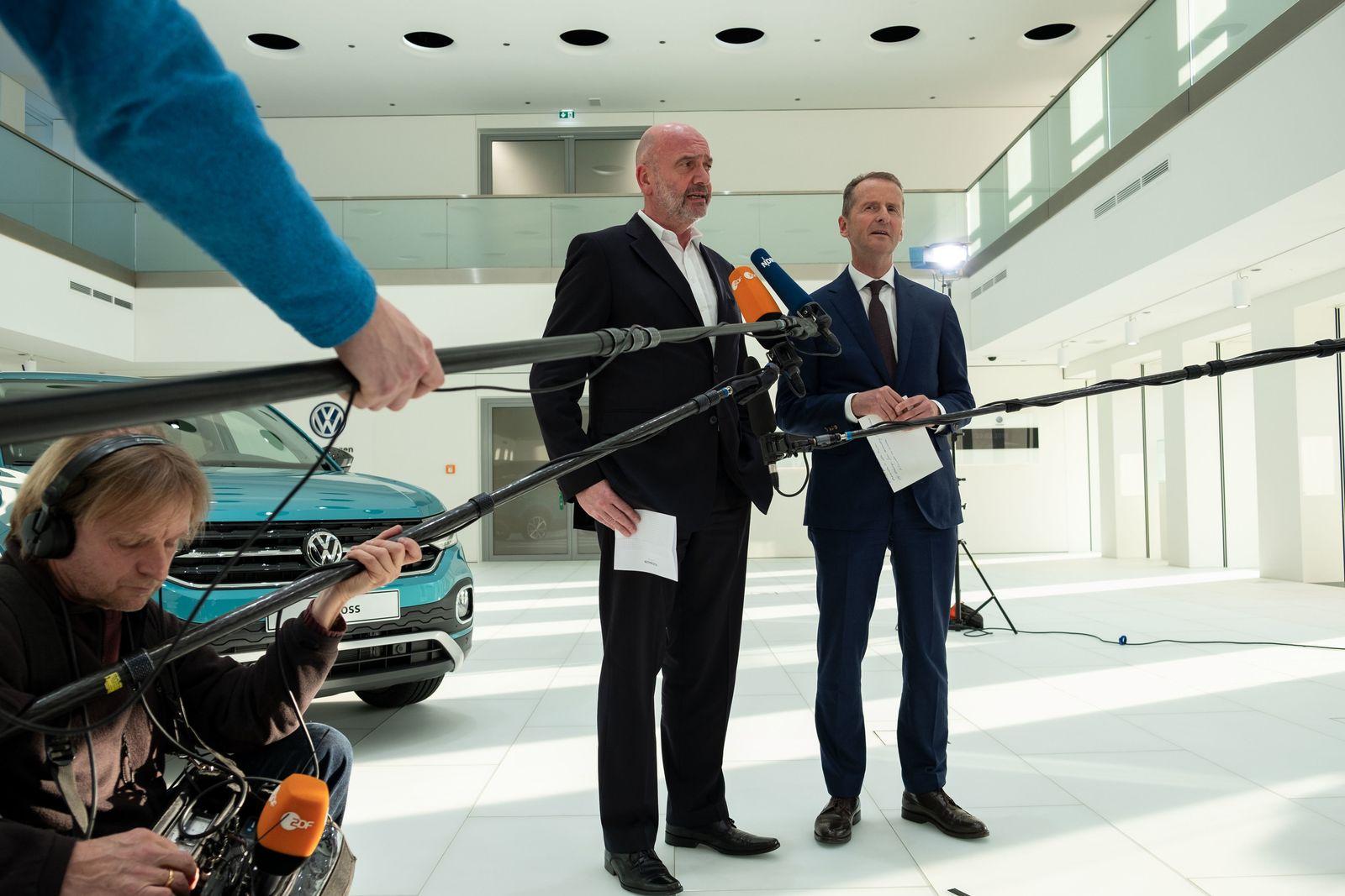 Volkswagen - Aufsichtsratssitzung diess osterloh
