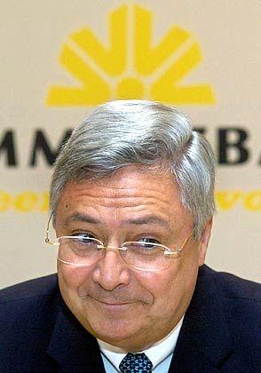 Optimistisch für 2006: Commerzbankchef Klaus-Peter Müller
