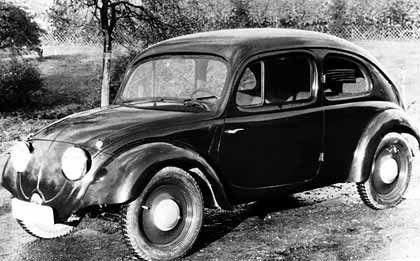 VW Käfer aus dem Jahr 1935/36