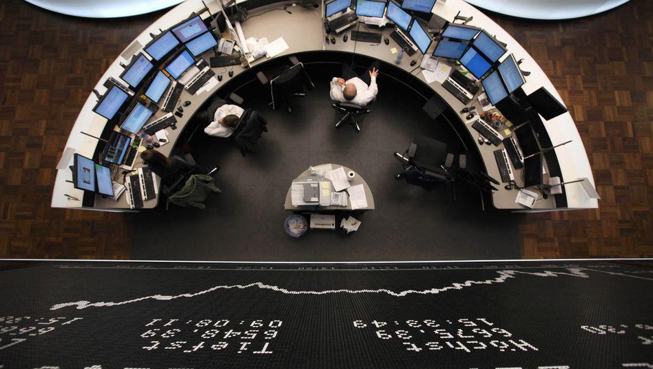 Börse in Frankfurt: Belastungen aus den USA im späten Handel