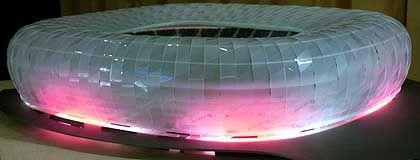 Im neuen Stadion soll 2006 das WM-Eröffnungsspiel stattfinden