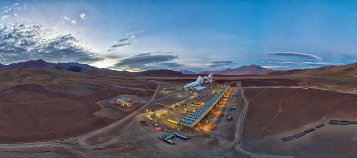 Geothermiekraftwerk in der Wüste Atacama: Aggressiv investierende Ökoversorger markieren Rekorde