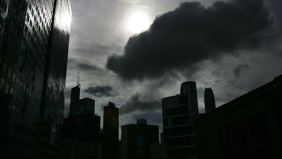 Bankenviertel in Hong Kong: Die Kraftlosigkeit der Banken - vor allem in Europa - gefährdet nach Einschätzung des IWF die globale Finanzstabilität