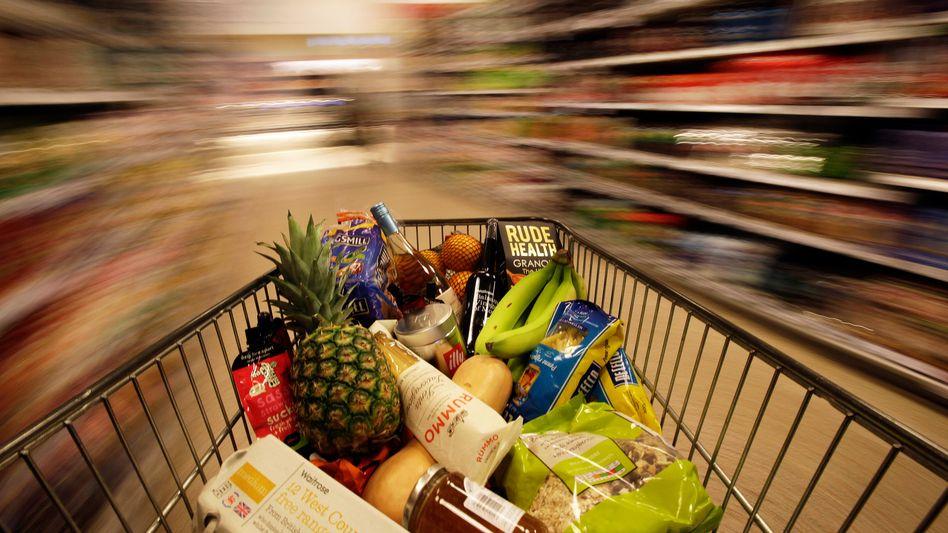 Die Verbraucher in Großbritannien stützten im vergangenen Quartal mit deutlich höheren Ausgaben die Konjunktur