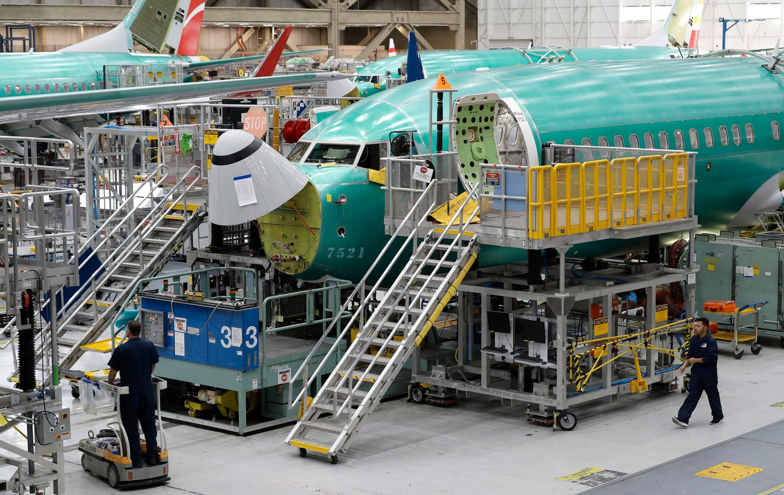 Boeing 737 Max / Produktion