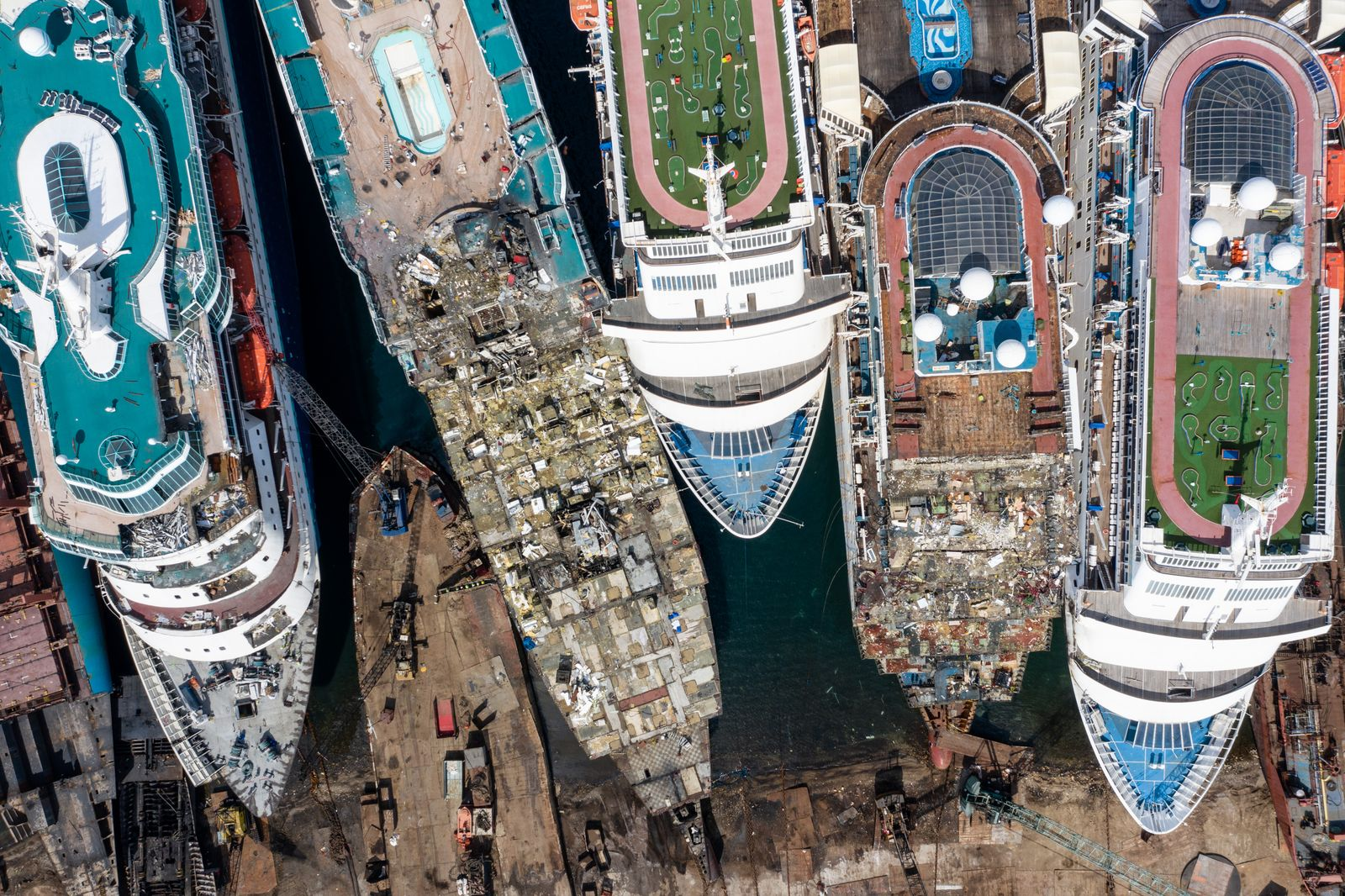 Cruise Ships Sold For Scrap Due To Coronavirus Pandemic