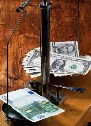 Auch 2008 unter Druck:Der Dollar leidet unter einer fragilen US-Konjunktur