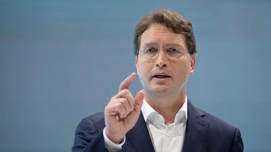 Gemeinschaftsaufgabe: Daimler-Boss Ola Källenius findet, E-Mobilität brauche die Hilfe des Staats.
