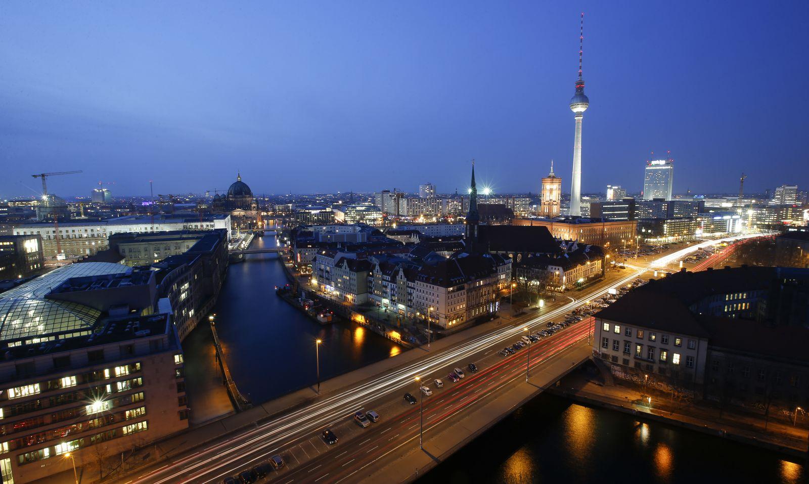 Berlin / Stadtansicht / Luftbild