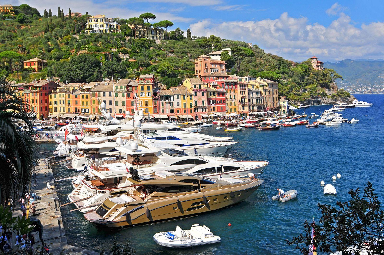 EINMALIGE VERWENDUNG Portofino / Italien