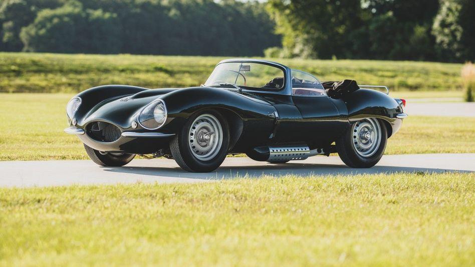 Nachgebaut:Jaguar XKSS Continuation, versteigert im Oktober 2020