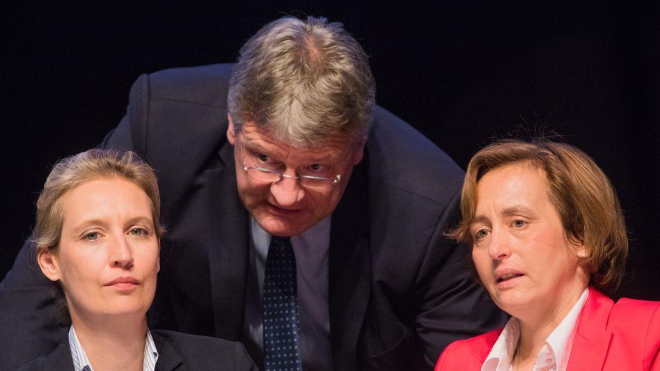 Sehen sich als Opfer der Zensur: Beatrix von Storch (rechts) und Alice Weidel (links)