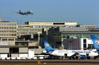 Gatwick Airport: Der Flughafen im Süden Londons ist ähnlich bedeutend wie der Münchener