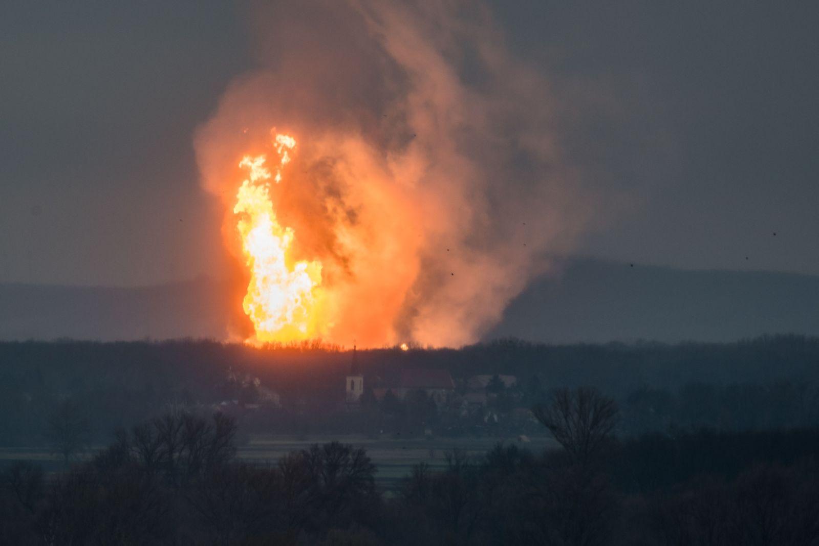 Gasexplosion / Österreich / OMV