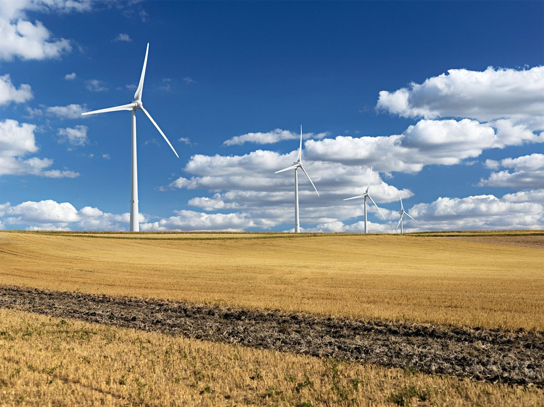 Windräder in Frankreich / Enercon