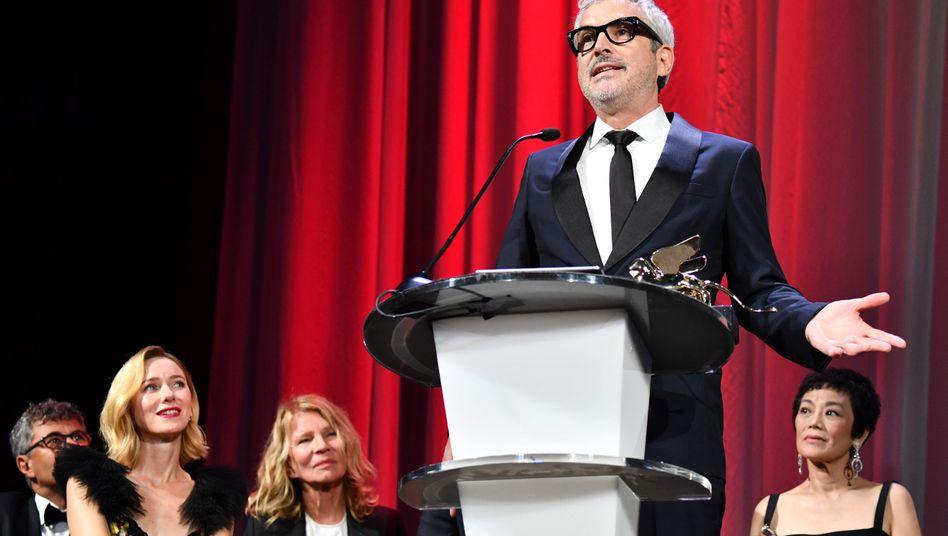 Regisseur Alfonso Cuaron im September bei den Filmfestspielen in Venedig