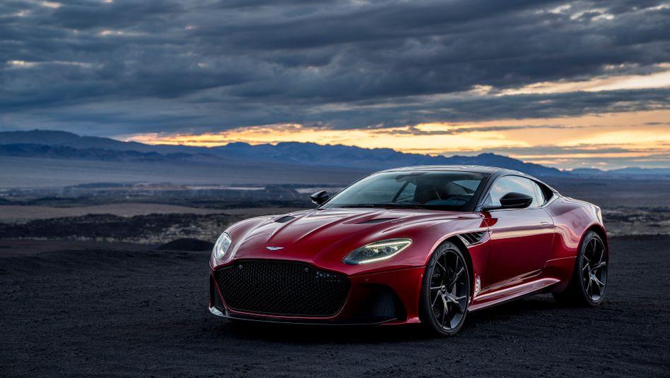 Aston Martin DBS: Das Börsendebüt des britischen Sportwagenspezialisten war nicht gerade fulminant