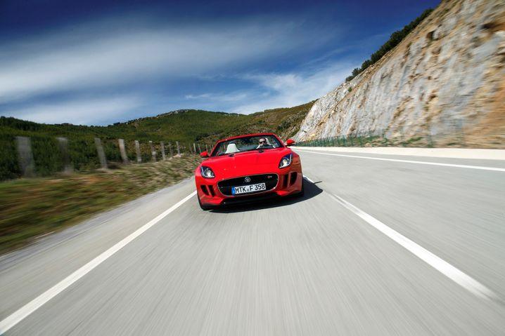 Seit Mai bei den Händlern: Jaguars neuer Sportwagen F-Type