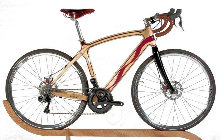 Fahrrad vom Flugzeugbauer: Dieses Rad von Ken Wheeler ist mit Flugzeuglack versiegelt