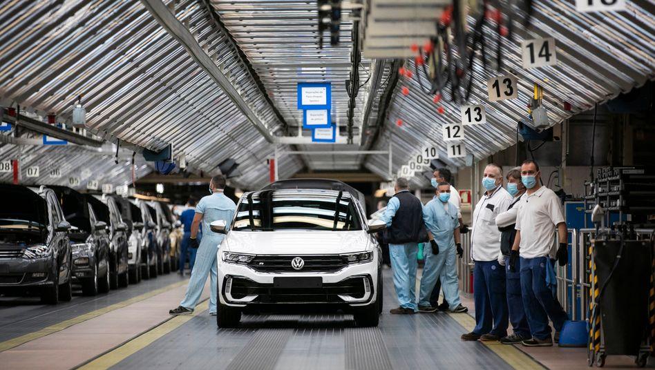 Volkswagen-Werk in Palmela bei Lissabon