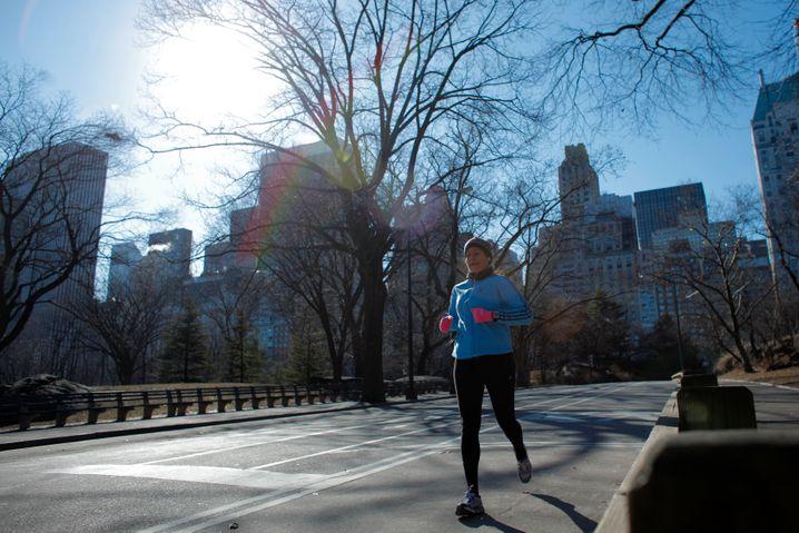 Liegt immer vorne: Die Businessläuferin verbindet gern sportliche und berufliche Erfolge