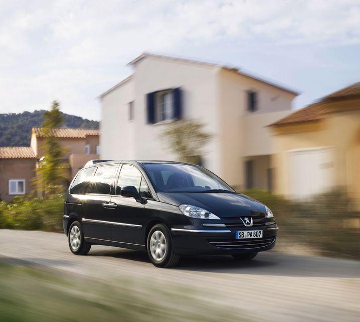 Peugeot 807: Aus dem Programm genommen