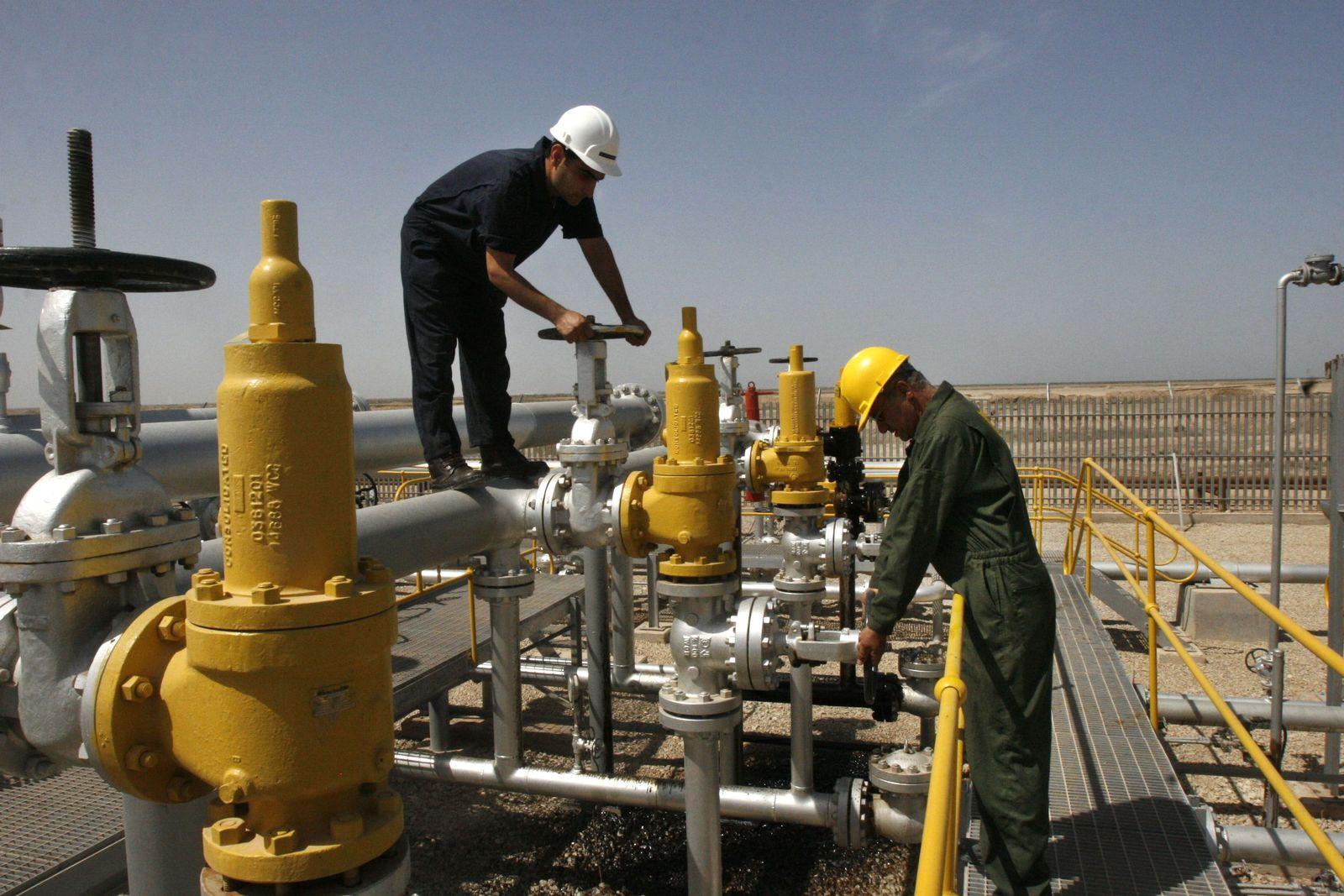 Iran / Öl-Förderung