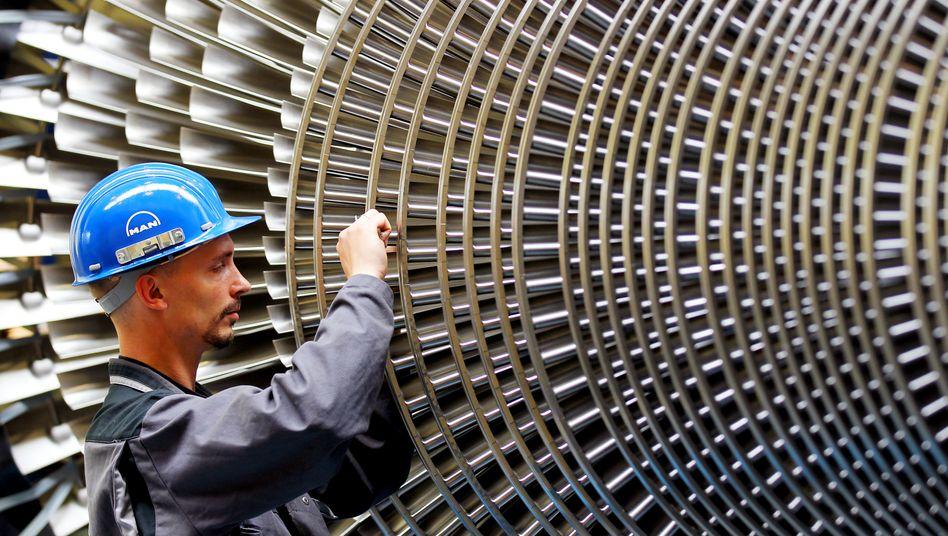 Turbinenbauer bei MAN Energy Solutions