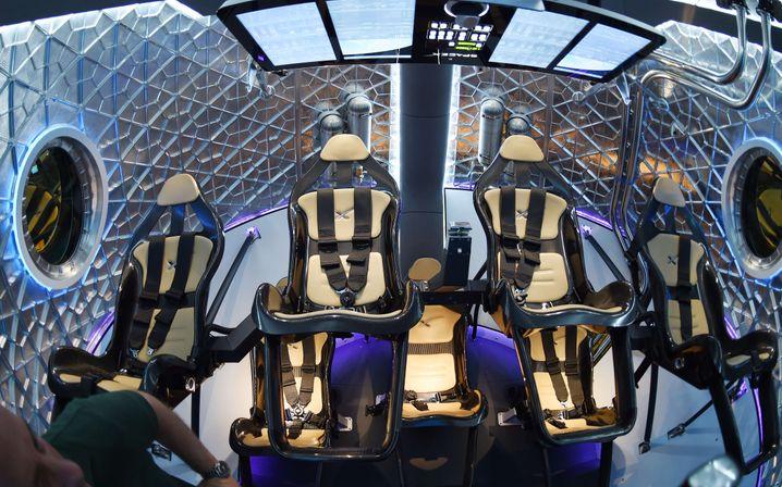 Raumschiff von SpaceX: Bereit zum Boarding?