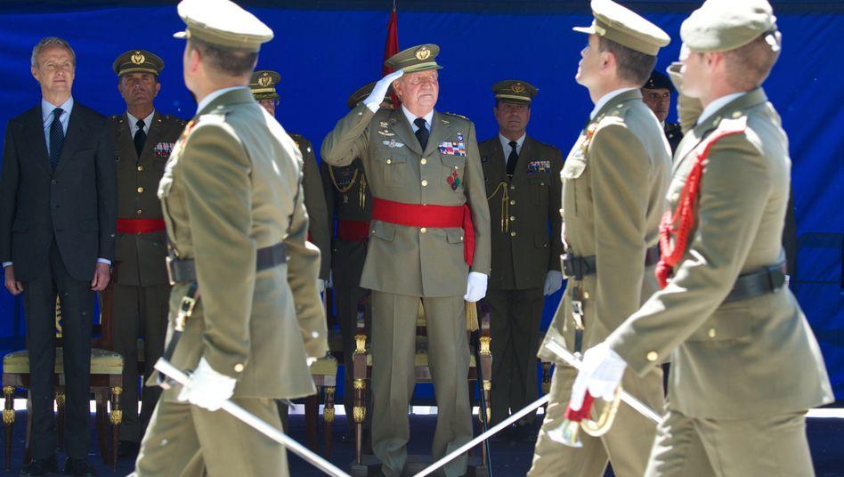 Juan Carlos: Seit Monaten wird der König von gesundheitlichen Problemen geplagt