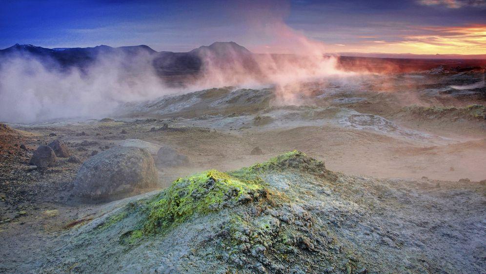 Vulkangebiet Krafla: Hier bohrt Island nach dem heißen Schatz