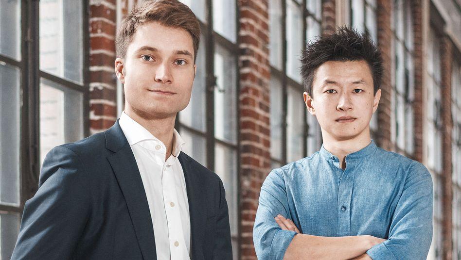 GetYourGuide-Gründer Johannes Reck und Tao Tao: 428 Millionen Euro sammelte das Reise-Start-up ein. Das war der größte Deal im ersten Halbjahr 2019 - vor der Online-Bank N26 (266 Millionen Euro) und dem AdTech-Start-up Adjust (201 Millionen Euro).