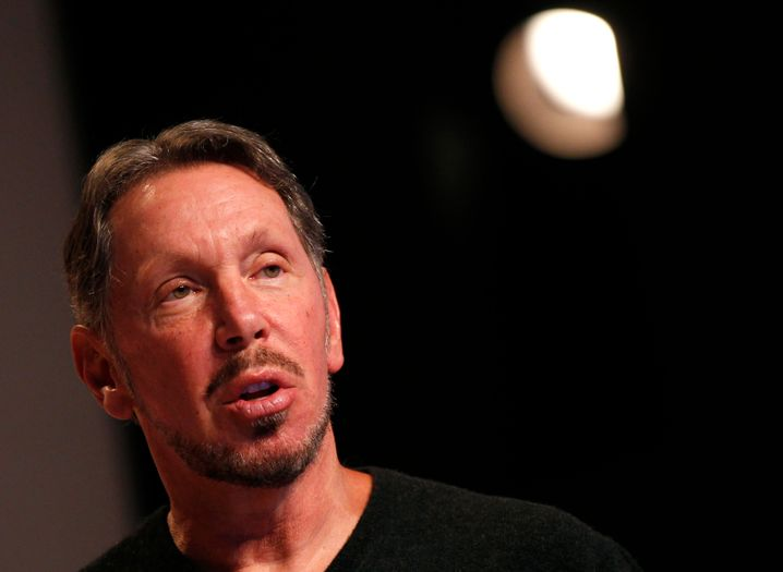 Klarer Spitzenreiter:Oracle-Boss Larry Ellison