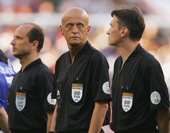Den Fußball verinnerlicht: Der italienische Ex-Schiedsrichter Collina