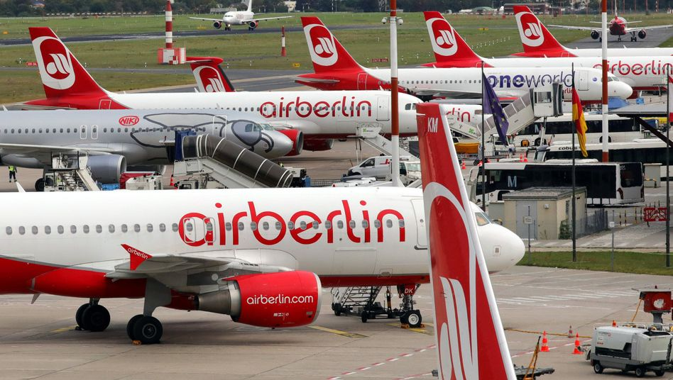 Air-Berlin-Maschinen (Archivbild von 2017)